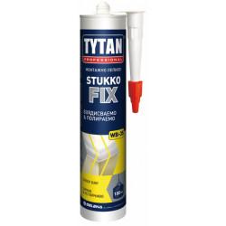 Монтажно лепило за полистирол StukkoFix / бяло / 280мл