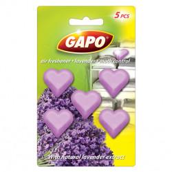 Таблетки против молци Gapo лавандула / сърце / 5броя