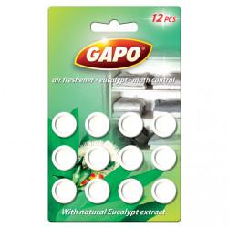 Таблетки против молци Gapo евкалипт / кръг / 12броя