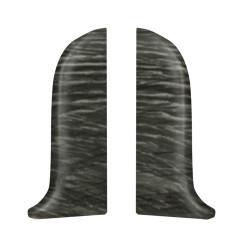 Тапи лява +дясна за PVC перваз SALAG SG56/F9 - ДЪБ БЕДРОГ