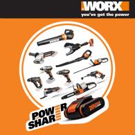 Иновативните инструменти на WORX са вече в Praktis