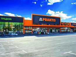 Последно поколение строителен хипермаркет Praktis отваря врати в старата столица