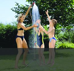 Градински соларни душове