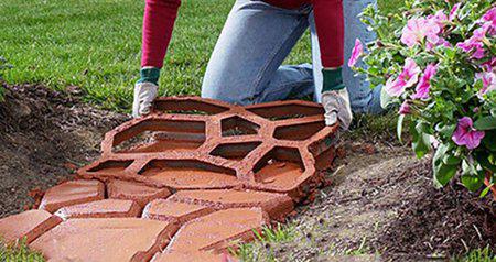 Направи си сам – градински павета
